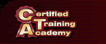 Certified Training Academy Logo